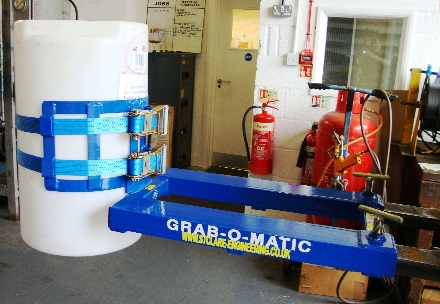 Grab-O-Matic Double Webbing Fork Attachment