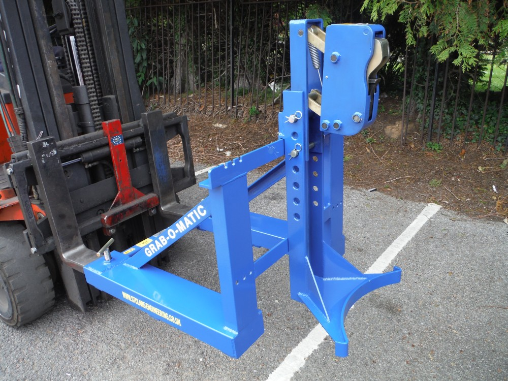 Grab-O-Matic 1-DLR Single Drum Handler