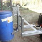 1-DLR st-steel Plastic 'L'Ring drum