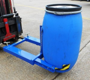 Fork Lift attachments for your Mauser drums